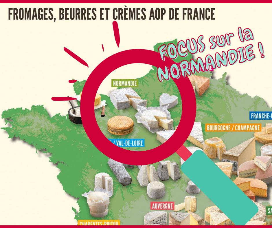 Plateau de fromage normand à Noël