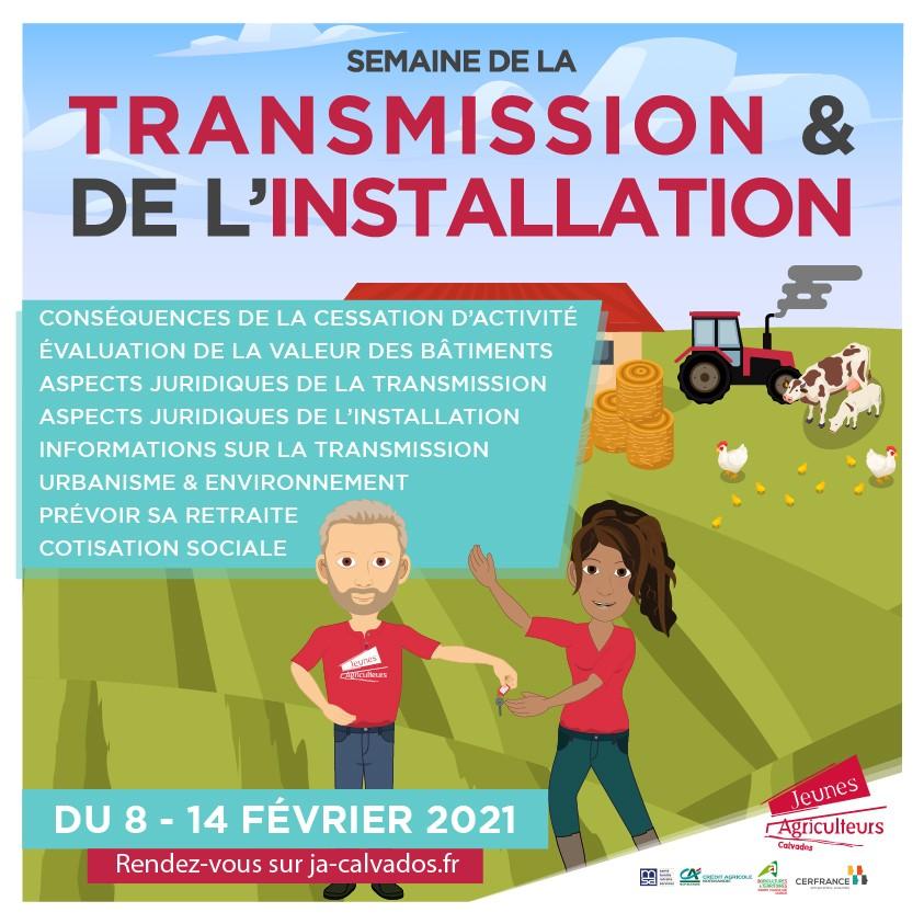 Semaine de la transmission et de l'installation 2021 - JA14