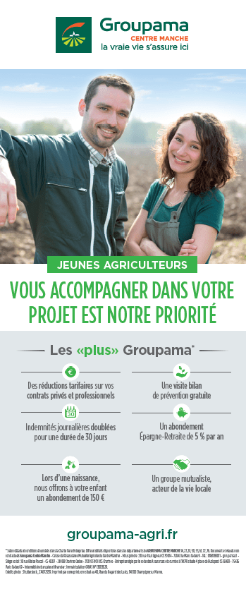 Jeunes Agriculteurs du Calvados - Groupama - Contacter un assureur