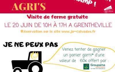 # Entrez, c'est ouvert ! Produire en plaine de Caen