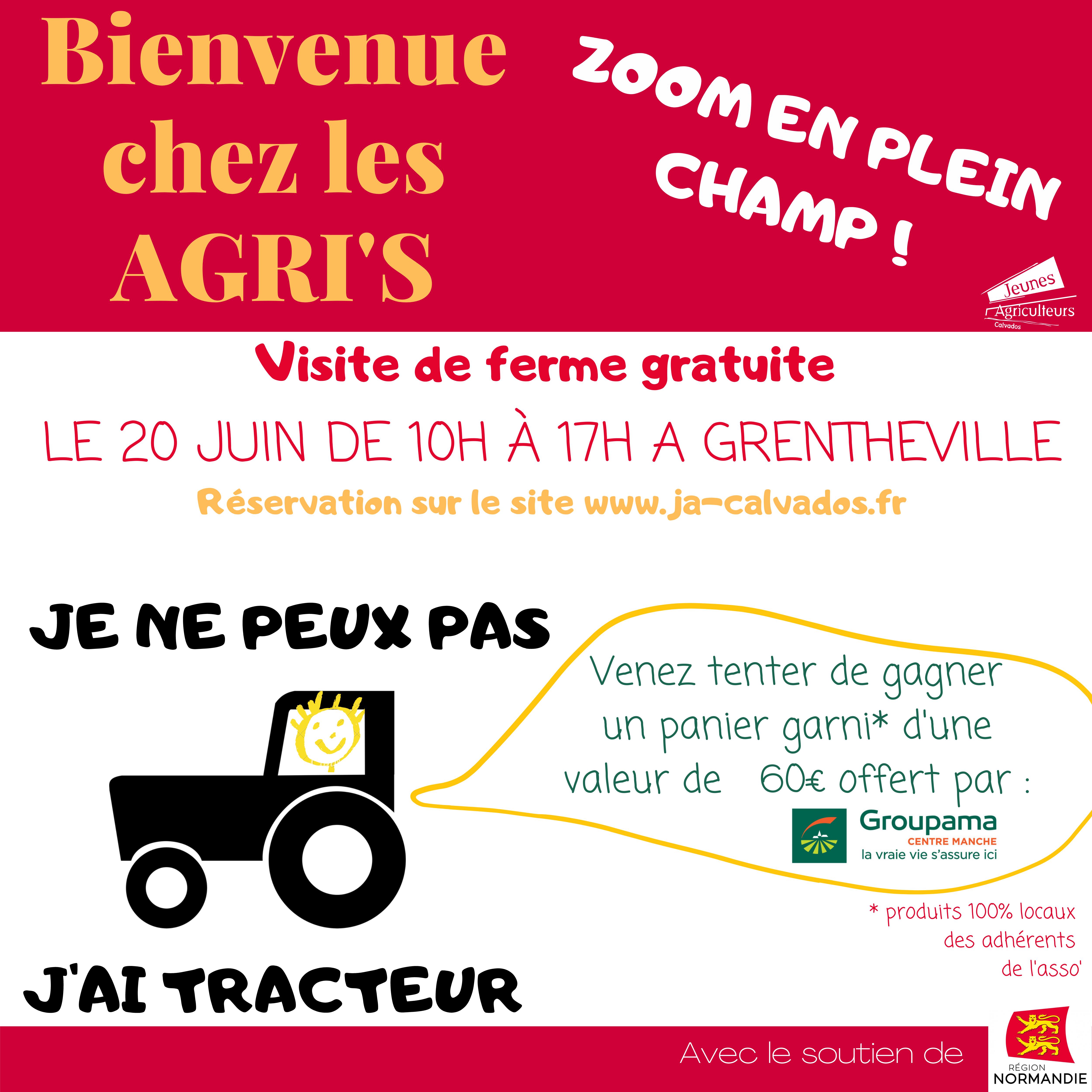 Bienvenue Chez Les Agris - Avril 2021